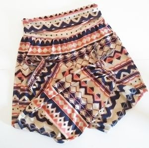 Onzie Gypsy Harem Pants Yoga Aztec Leggings Boho